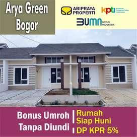 Dekat PEMDA Cibinong,Beli Rumah Gratis N-Max di Arya Green Tajurhalang