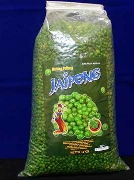 Jaipong Kacang Polong Hijau Ballan 4 kg
