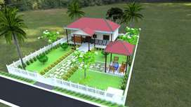 Farm house for sale 1BHK best to invest at Pedda Golconda near Airport