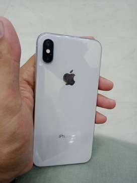 Iphone x 64gb 10/10 condition white color