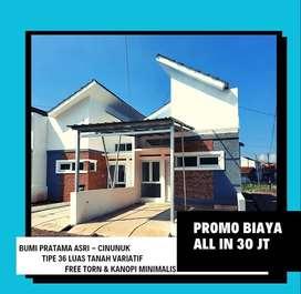 Rumah di Cinunuk Cileunyi Bandung Dekat UIN UPI Cibiru segera miliki
