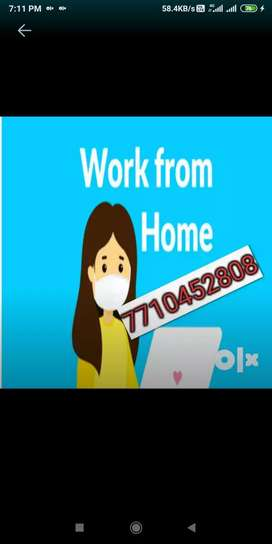 Need 1 freshers for data typing home based job