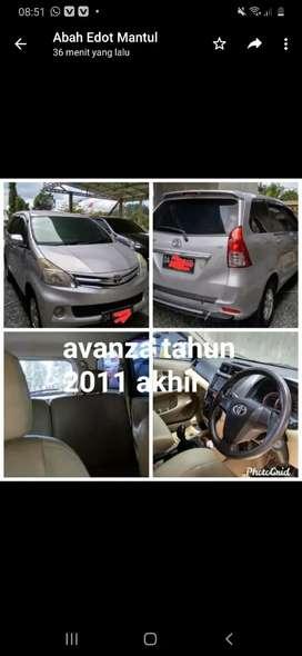 Dijual mobil avanza tahun2011 akhir