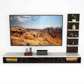 TV Entertainment Wall Unit/Set Top Box Stand (Large)