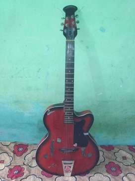 Red Original Signtaure Guitar