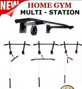 All in One Home Gym weight Plates Multi Exercises Pull Up Bar Dumbbell