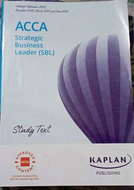 Kaplan ACCA SBL (Strategic Business Leader)