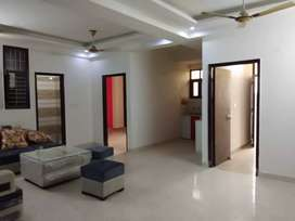 3 bhk semi furnished flat in Noida extension
