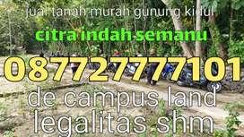 Jual tanah murah lokasi strategis dekat kampus UNY(citra indah Semanu)