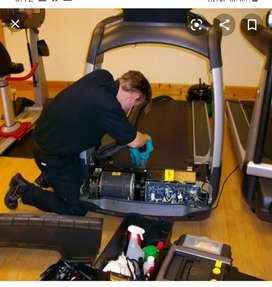 All gym equipment treadmill elliptic orbit Hom gym service