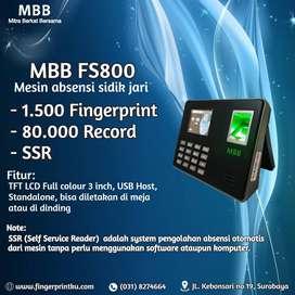 MESIN ABSENSI SIDIK JARI MBB FS800 TARIK DATA MUDAH