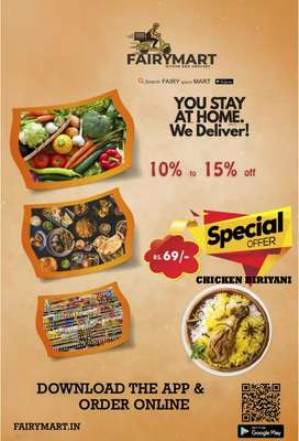Online food delivery, download  the application  and order online
