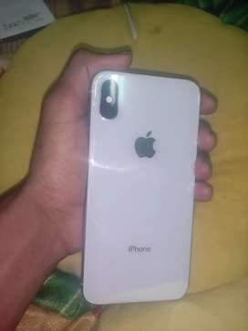 Iphone x 256 gb back light crack and face id not working