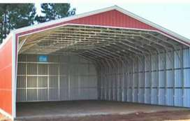 Aluminium roofing sheet works