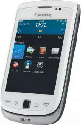 Blackberry Torch Slider in White Original PTA Approved by Al-Ghazali