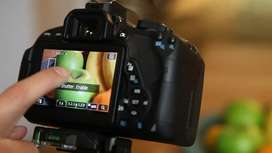 Canon 700d for rent only