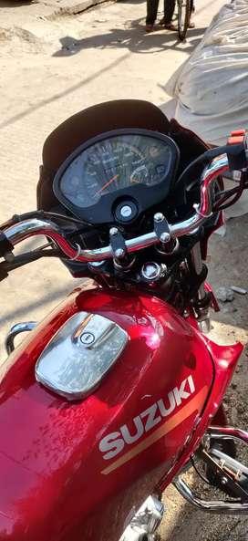 Suzuki fiero red colour