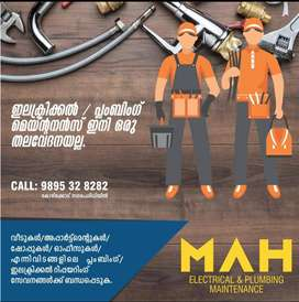 Electrical and Plumbing Maintenance Service -Calicut