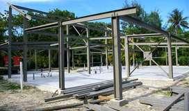 integreet konstruksi menerima jasa pasang konstruksi WF