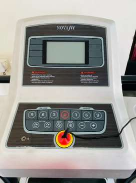 NOVAFIT TREADMILL THREE YEAR OLD ONLY USED AT HOME.motor to b replaced