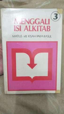 Jual Buku Langka Menggali Isi AlKitab Matius hingga Kisah Para Rasul