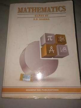 R.D SHARMA mathematics reference book (class 11)
