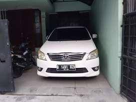 Dijual mobil Toyota INNOVA AT Type V,Tahun 2012