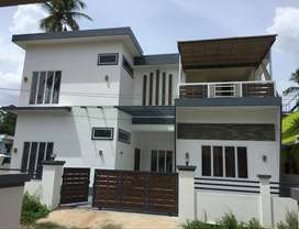 A NEW 4BHK 2200SQ FT 7.5CENTS HOUSE IN MANNUTHY,THRISSUR