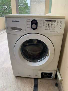 Samsung automatic washing machine front load(not working well)