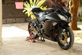 Dijual motor kesayangan dan rawatan Ninja 250 Fi 2015