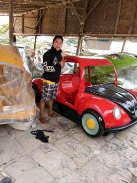 sepeda air mobil,wahana air mobil mobilan,perahu air mobil ready stok