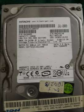160 GB HITACHI HARD DISK