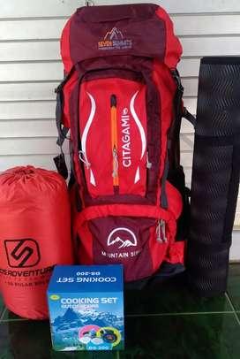 Paket Hemat Alat Camping