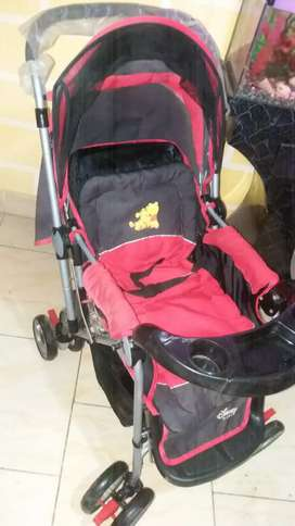 a Disney pram in a new condition