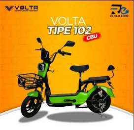 Sepeda Listrik Volta 102 Bisa Kredit Tanpa CC By Homecredit