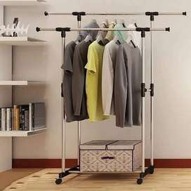 DOUBLE Clothes Hanger Stand – Drying Rack
