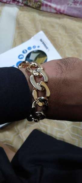 Bracelet for sale coaded with plastic gold