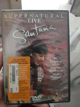 Dvd original Santana from USA