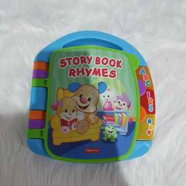 Fisher Price Laugh and Learn Storybook Ryhmes