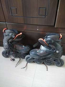 Oxelo intermediate inline skates for 5 - 7 years boys