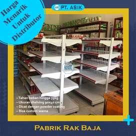 Rak Gondola Plaza Swalayan Minimarket Tinggi 200 cm