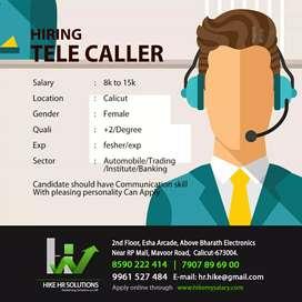 Hiring Tellecaller