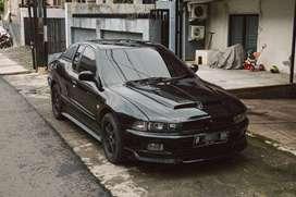 Galant Hiu ST Mitsubishi V6 2004 Manual Modifikasi Coupe Semi-Auto