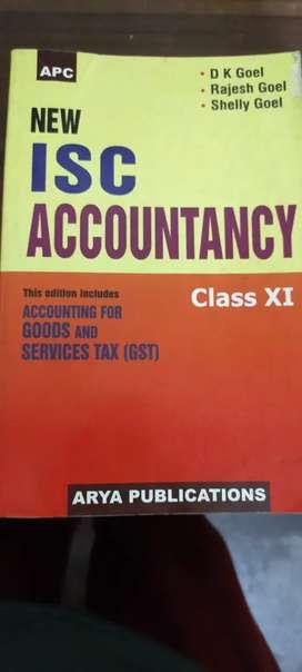 Isc accountancy d k goel