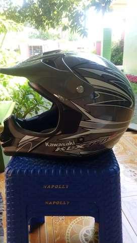 Jual helm klx bekas rasa baru