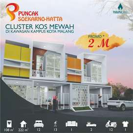 Cluster Kos Mewah di kawasan Kampus Kota Malang