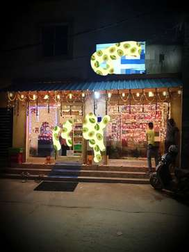 A Fully functional & furnished Mini Mart (Grocery,)is ready to sale