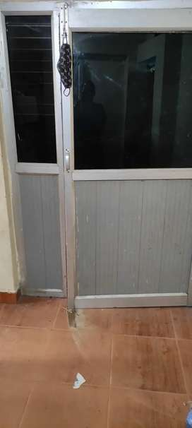 Semi furnished shop and attached godown