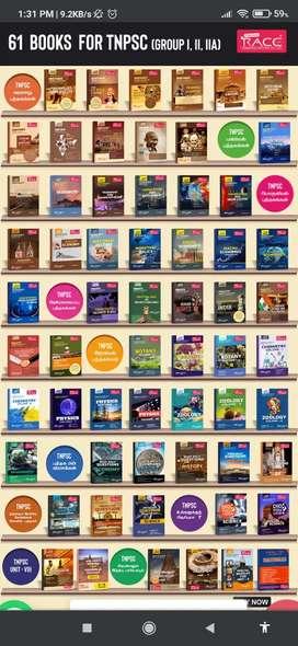 63 Books - Group 2, 2A & 4 TNPSC books - English