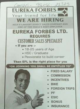 Eureka forbes limited. Surat City
